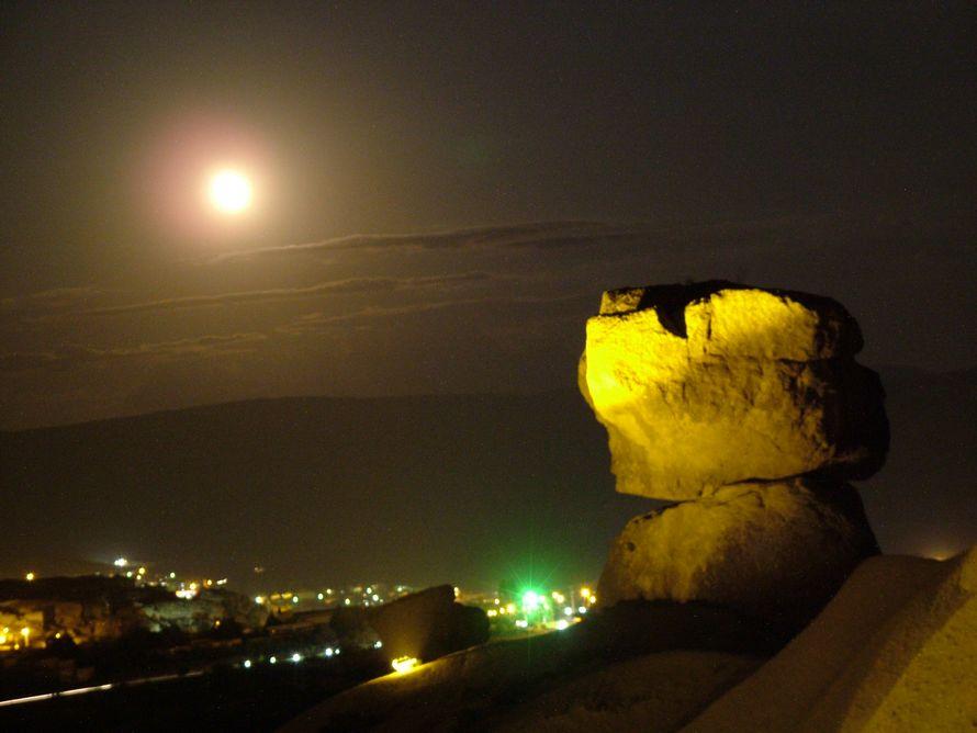 Kapadokya da ay doğuşu [Ali Güneş]
