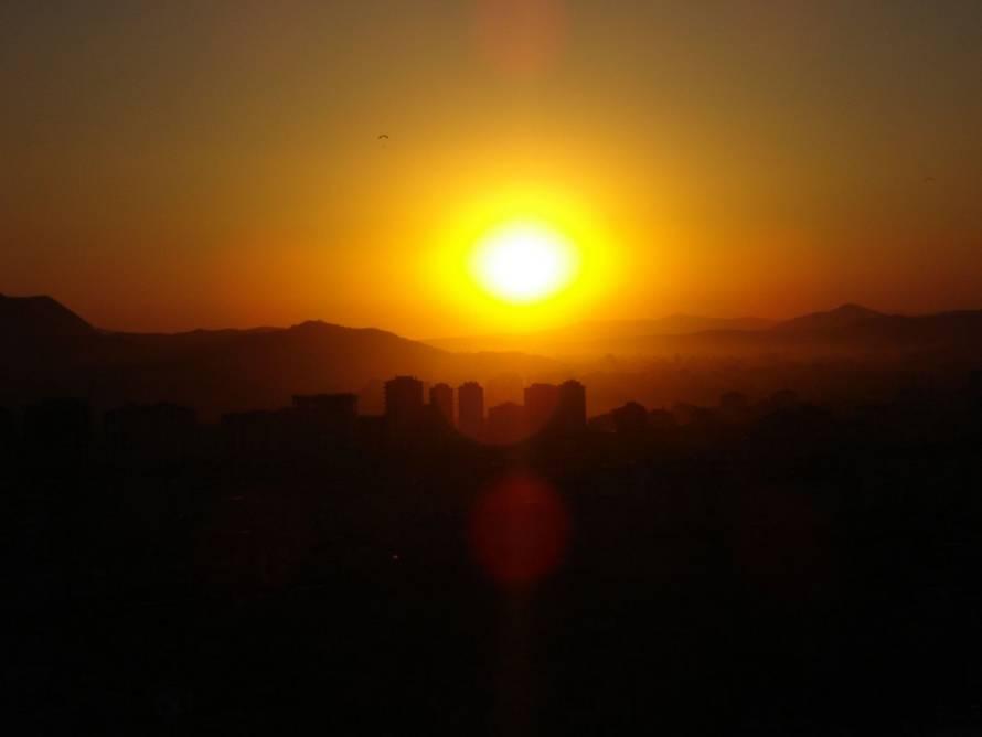 Kayseri de gün batımı [Emel Göktaş]