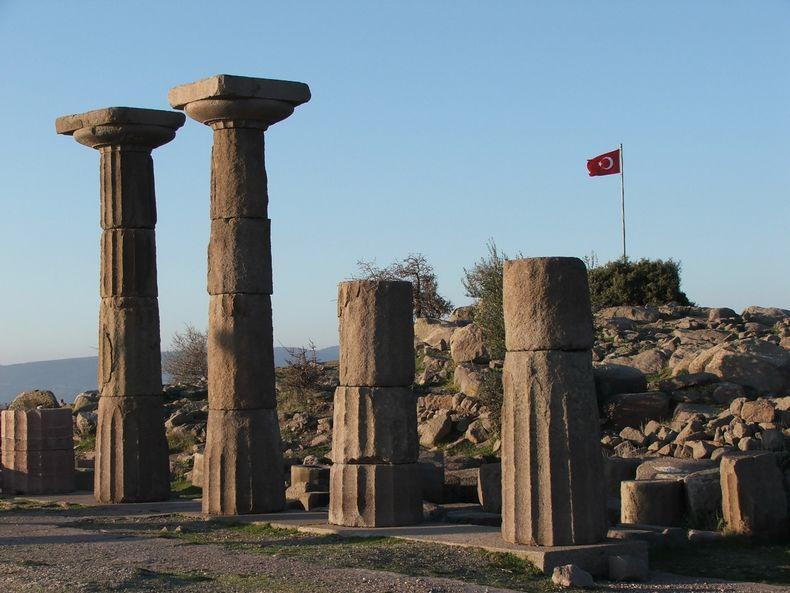 Athena Tapınağı Asos [Halil Şenol]