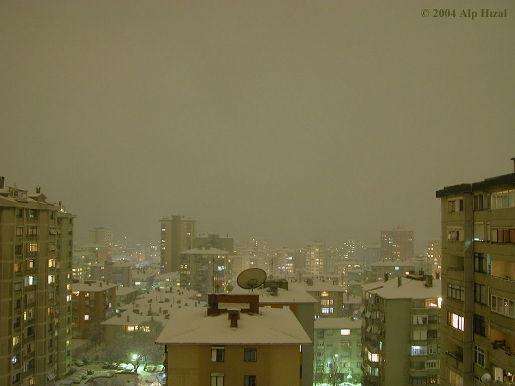 İstanbulda Kar [Alp Hızal]