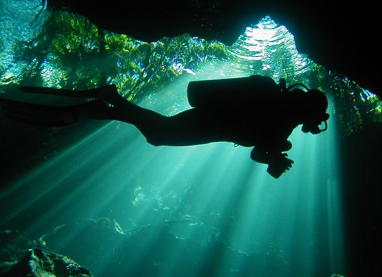 Yucatan (Meksika) Cenotes (sualti magralari) [Ahmet Tezel]
